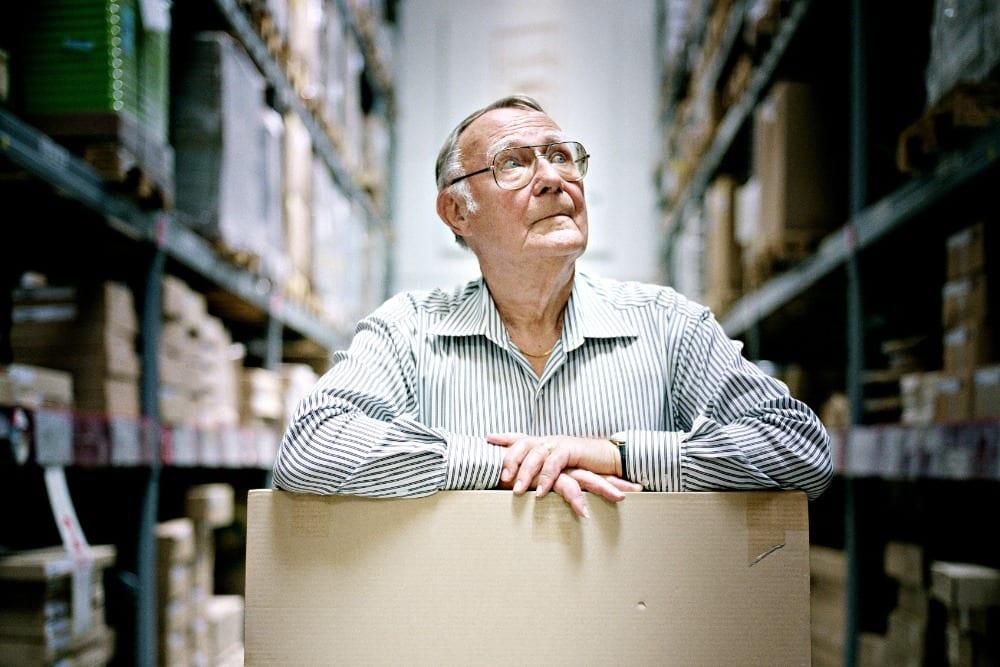 IKEA Kurucusu Ingvar Kamprad