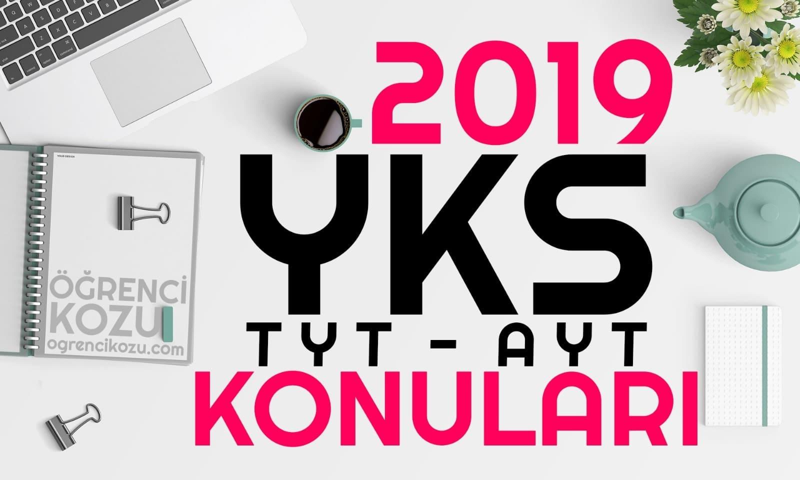 2019 TYT Türkçe Konuları ve Soru Dağılımı
