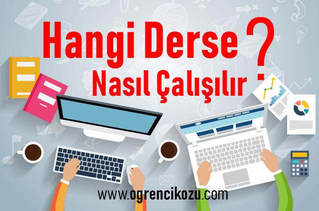 TYT Türkçe Konuları Çalışma Taktiği