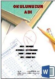 En Güzel 99 Ödev Kapağı 81